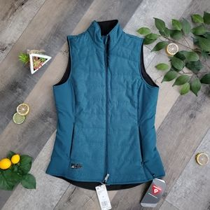 Adidas Vermys Reversible Puffer Vest Size S